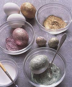 Πασχαλινά αυγά με χρυσόσκονη! | LarissaKid.gr - Τα πάντα για το παιδί στη Λάρισα
