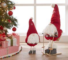 Santa Gnome Decor