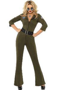Adult Top Gun Aviator Hottie Costume
