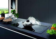 Wave Design Kookplaat met opbouw Downdraft (4200)