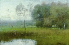 hypnoticlandscape:  George Inness #landscape #tree #art
