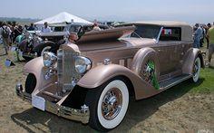 1933 Packard Twelve 1006 Dietrich Convertible Victoria