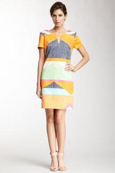 Museum Print Dress on HauteLook