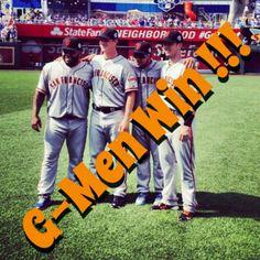 G-Men Win