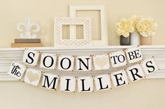 Soon To Be Mr and Mrs, Engagement Party Ideas, Soon to Be Banner, Engagement Party Decor, Engagement Decor, Champagne Glitter Decor, B203