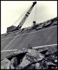 The Demolition of AVUS's Nordkurve