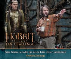 We're excited to announce that director Peter Jackson himself will be judging the Grand Prize winner submissions in The #HobbitChallenge! Submit your creation by February 1st - for more details, visit https://fanchallenge.thehobbit.com/.
