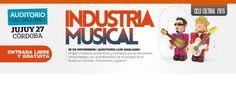 [Argentina] III Jornada de industria de la música en Córdoba