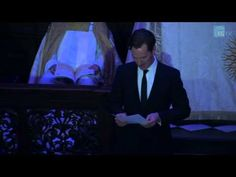 Benedict Cumberbatch reads for the Story of Christmas. <---- Oh it's Christmas! (Haha see what I did there?)