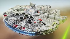 LEGO builder Marshall Banana spent a year planning and building this 7,500 piece replica of the latest version of Han Solo's ride. It's one of the most beautiful pieces of garbage I've ever seen.