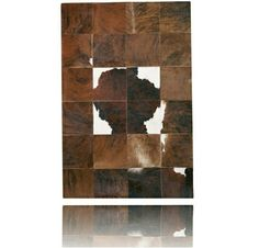 Alfombra Piel de Vaca Patchwork PS-712 Cow Skin Rug, Under Construction, Rugs, Leather, Home Decor, Ox, Carpet, Patchwork Rugs, Turkish Lamps