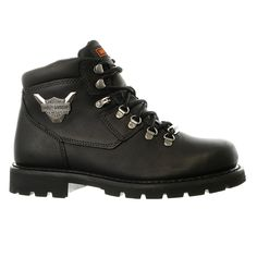 Harley-Davidson Glenmont Motorcycle Leather Boot Shoe - Mens