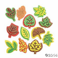 Learning Leaves! Foam Leaf $5 / 12
