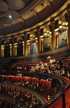 Royal Albert Hall interior ~ London, England My seat will be much better! Discount Interior Doors, London Dreams, Hall Interior, London Places, Royal Albert Hall, England And Scotland, Concert Hall, London Travel, Great Britain