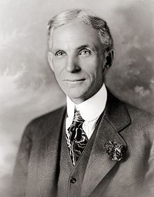 Henry Ford died from a cerebral hemorrhage at his Dearborn Estate on April He is buried in the Ford Cemetery in Detroit. His only son, Edsel died from cancer in 1947 and grandson, Henry Ford II took over running Ford Motor Co.