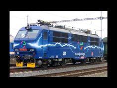 Vlaky - Lokomotivy # 1 | Kuba CZ - YouTube Train, Vehicles, Youtube, Zug, Rolling Stock, Strollers, Vehicle, Tools
