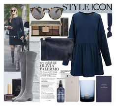 """#styleicon Olivia Palermo"" by sophie-martina ❤ liked on Polyvore featuring Ciaté, Gianvito Rossi, By Nord, Smythson, Splendid, Bumble and bumble and styleicon"