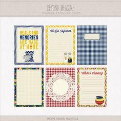 Beyond Measure Journaling Cards