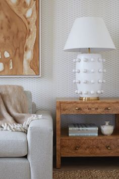 For the love of layers. Interior design by Hernandez Greene for @dominomag at @citizen360nyc. Featured: Linden Table Lamp by Kelly Wearstler in Plaster White with Linen Shade. #circalighting