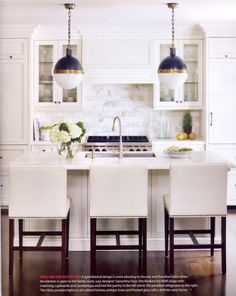 I am working away on a 'small' kitchen reno in my home, so I have been constantly referring back to my kitchen-inspiration photos I have kep...