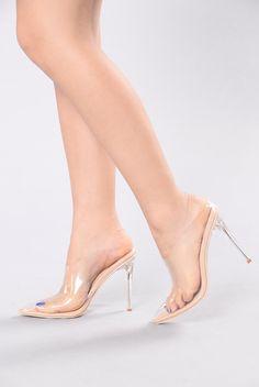 dc77dd77fd20b Adriana Heel - Gold Clear Sexy Sandals, Sexy High Heels, Fashion Nova Shoes,