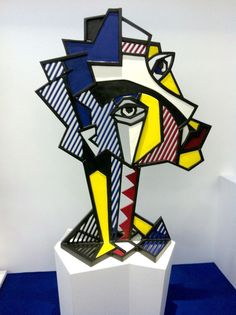 Roy Lichtenstein | Expressionist Head (1980) | Artsy More