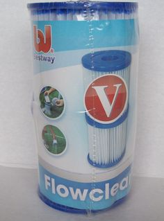 Bestway Flowclear Pool Filter Cartridge Type V Item #58168 For Your Outside Outdoor or Backyard Bestway Swimming Pool.