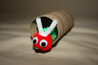 Cute and easy cocoon and caterpillar. Other caterpillar & butterfly art.
