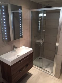 Now this is what I call an En-Suite!! We recently supplied all the furniture and tiles for this project for very good friends of mine. It looks amazing!