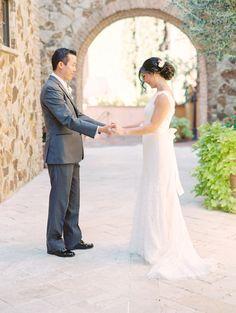 Outdoor Blush Real Wedding