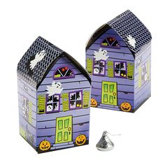 Haunted House Favor Boxes - OrientalTrading.com