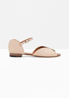 & Other Stories   Round Cut Sandals