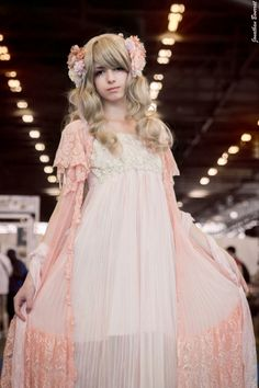 lilacnightmare:  A picture of my 1st Mori Kei outfit :3