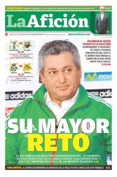 Esta es nuestra portada de hoy de La Afición Monterrey