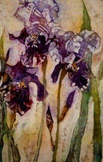 Iris - Watercolor Batik