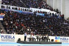 Alfredo Castillo entrega el Centro Estatal del Deporte de Puebla