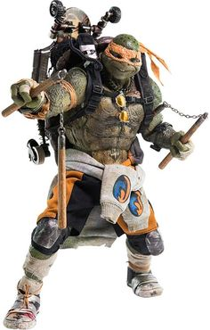 Teenage Mutant Ninja Turtles Out of the Shadows Action Figure 1/6 Michelangelo