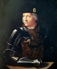 Ercole I d'Este (26 October 1431 – 15 June 1505) was Duke of Ferrara from 1471 until 1505. He was a member of the House of Este. He was nicknamed North Wind and the Diamond. He was educated at the Neapolitan court of Alfonso, king of Aragon and Naples, from 1445 to 1460; there he studied military arts, chivalry, and acquired the appreciation for architecture all'antica and the fine arts, which would result in his becoming one of the most significant art patrons of the Renaissance. Chivalry, Aragon, Northern Italy, Military Art, Renaissance, Duca, Captain Hat, Royalty, 15 June