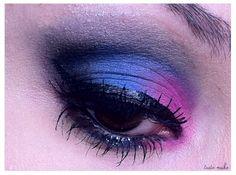 Tudo Make - Make up Passo a Passo Maquiagem Rosa e Azul - Por Ariadne Cretella make up make up, make up, make, up