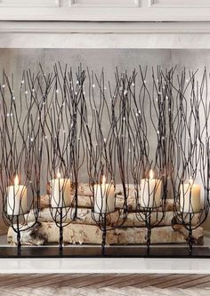 Perfect for your mantle or in front of your hearth, the Fedora Candleholder adds elegant character to your home with it's delicate metal work and sparkling beads.