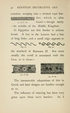 Egyptian decorative art : a course of lectures ...