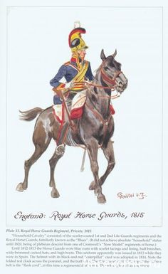 BRITISH ARMY - Royal Horse Guards, 1815.