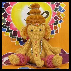 Ganesha amigurumi...so cute I wanne make these!