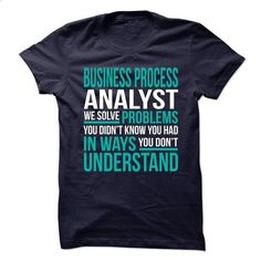 BUSINESS-PROCESS-ANALYST - Solve problem #style #clothing