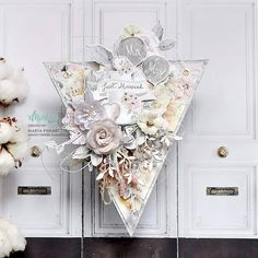 😍✂️😍 Hello everyone. It's weekend! Let's welcome it with some amazing inspiration created by our Brand Ambassador, Marta Piekarczyk… Shabby Chic Cards, Brand Ambassador, Mixed Media Collage, Card Tags, Paper Gifts, Just Married, Marry Me, Hello Everyone, Your Cards