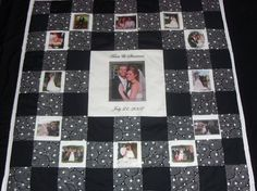 WeddingEngagement Photo quilt