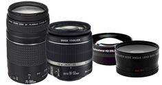 Canon EOS Rebel T3 SLR Camera Kit | BidsThatGive »