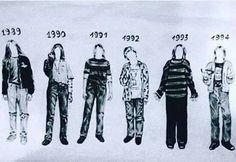Grunge Kurt cobain