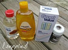 Ginger Snap Crafts: how to make giant bubbles {tutorial} Big Bubble Wand, Giant Bubble Wands, Bubble Mix, Giant Bubbles, Giant Bubble Recipe, How To Make Bubbles, Homemade Bubbles, Water Party, Baby Shampoo