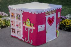 Card Table Playhouse The Cup Cakery